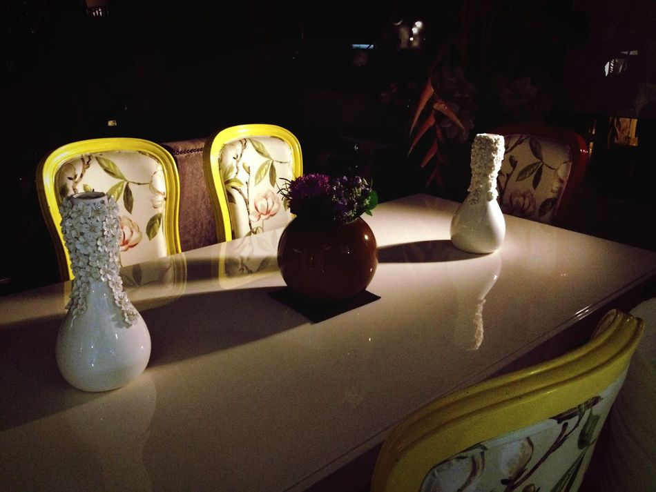 An Evening!!! Light And Shadow Interior Design Interior Dining Table #Iphoneography