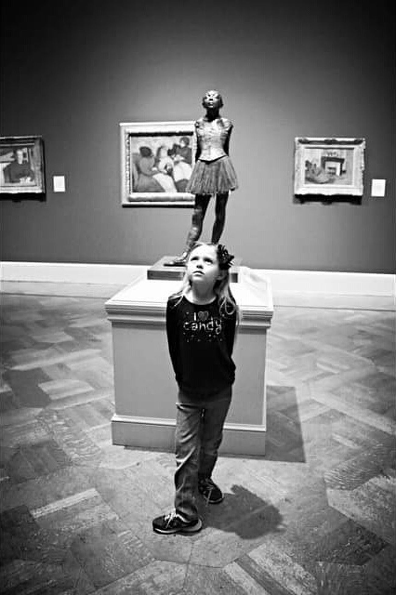 Little Dancer The Portraitist - 2015 EyeEm Awards Blackandwhite Portait St. Louis Art Museum Canon 70d