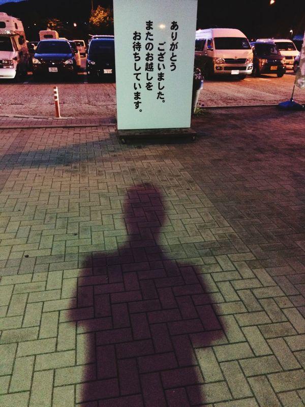 Goodbye Shadow Light And Shadow Omotenashi  また、くるよ。