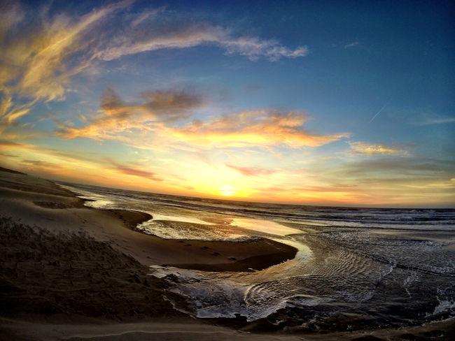 Beach Sunset Sun Sky Clouds And Sky Blue Blue Sky Nature Eye4photography  Landscape