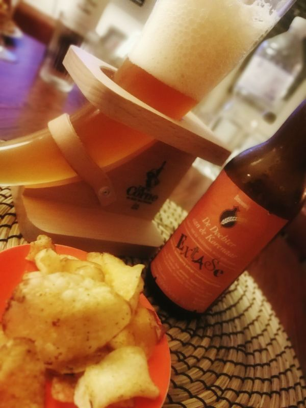 Food Indoors  Beer Belgium Êxtase Close-up Ready-to-eat Food And Drink Night