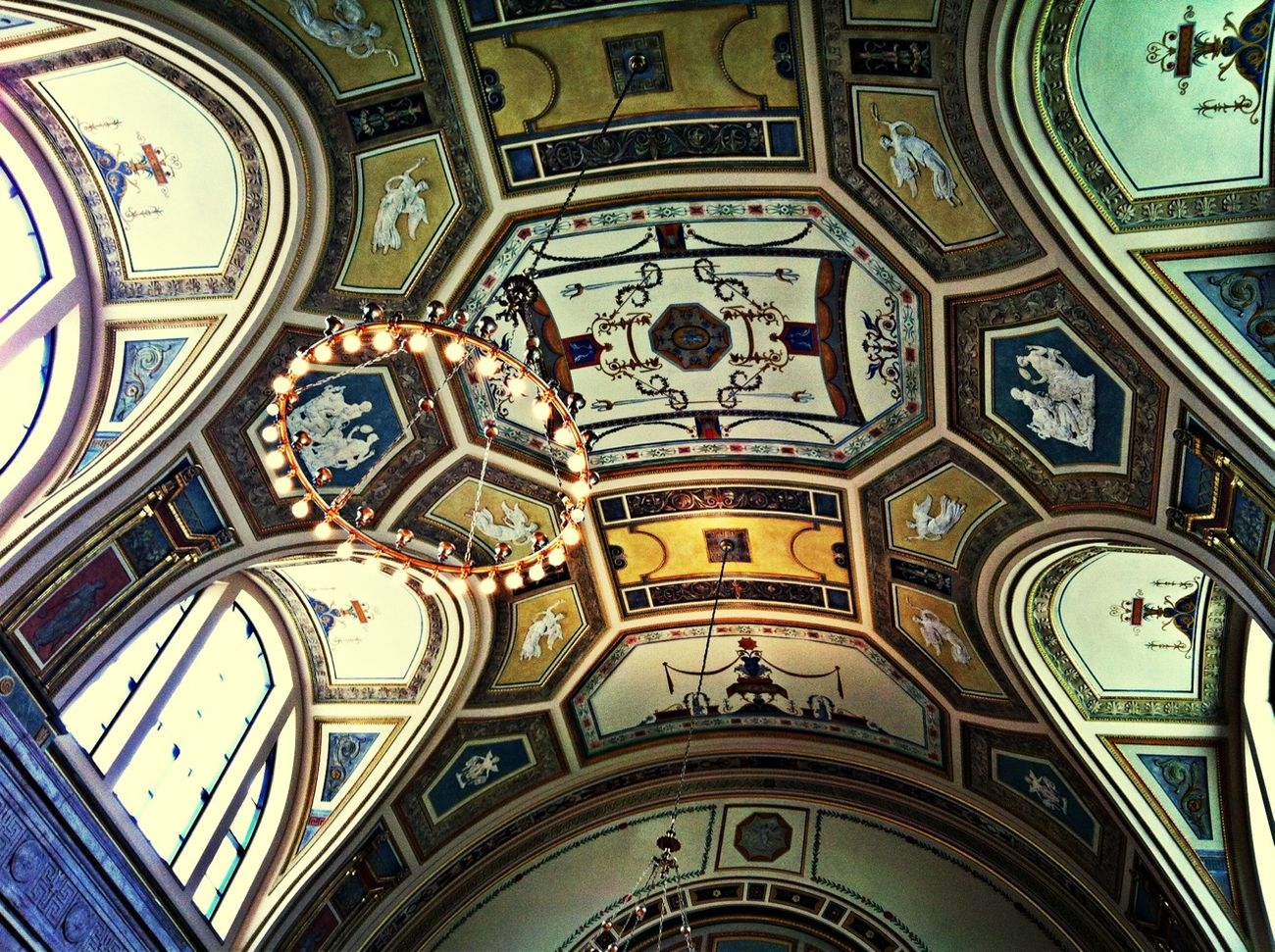 Architecture Ceiling Detroit Detroit Institute Of Art