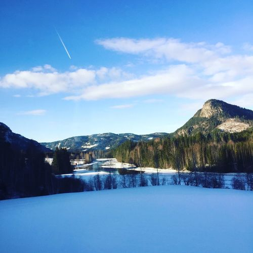Norway Traveling Busview Winter Snow Sports