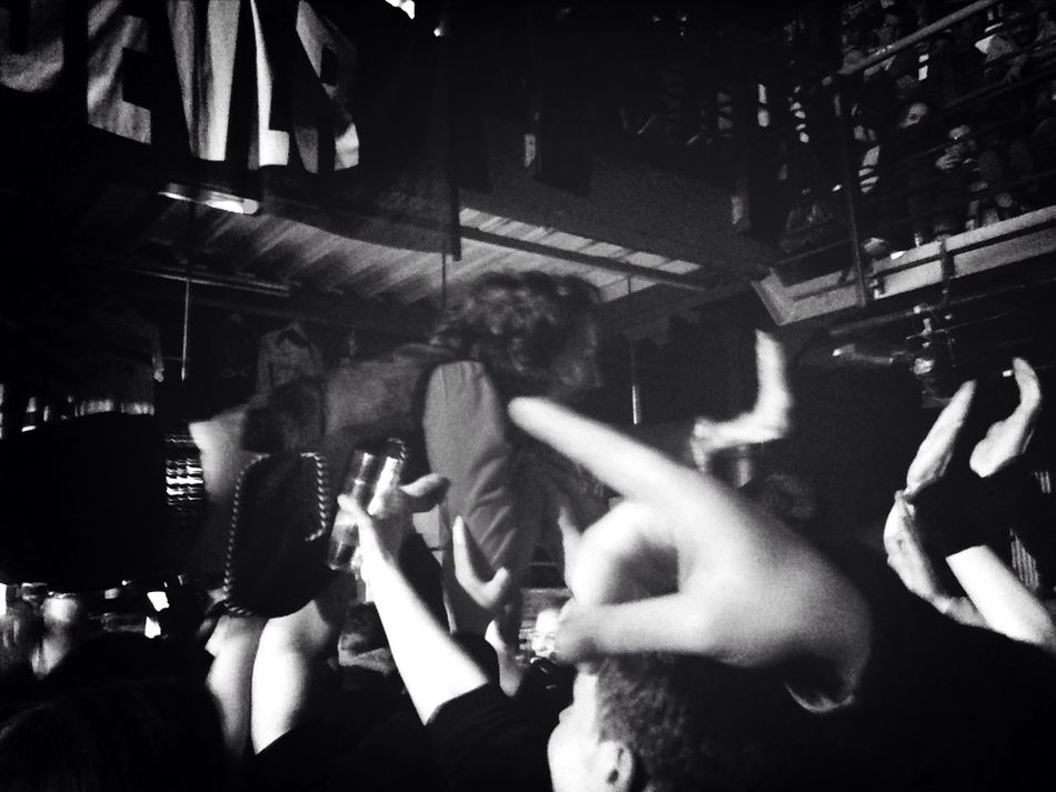 Concert Stage Diving Adam Green