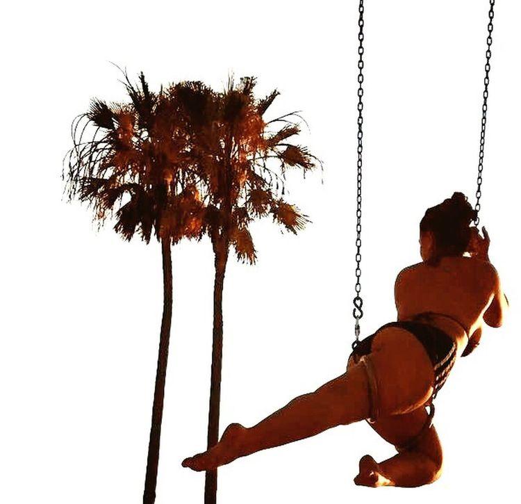 The Week On EyeEm Rope Circus Aerial California