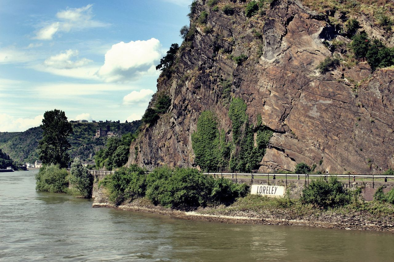 Cliff Day Geology Hystoryofdivingmuseum Loreley Loreleyfelsen Mountain Rhein Rock Rock - Object Rock Formation Stone Trip