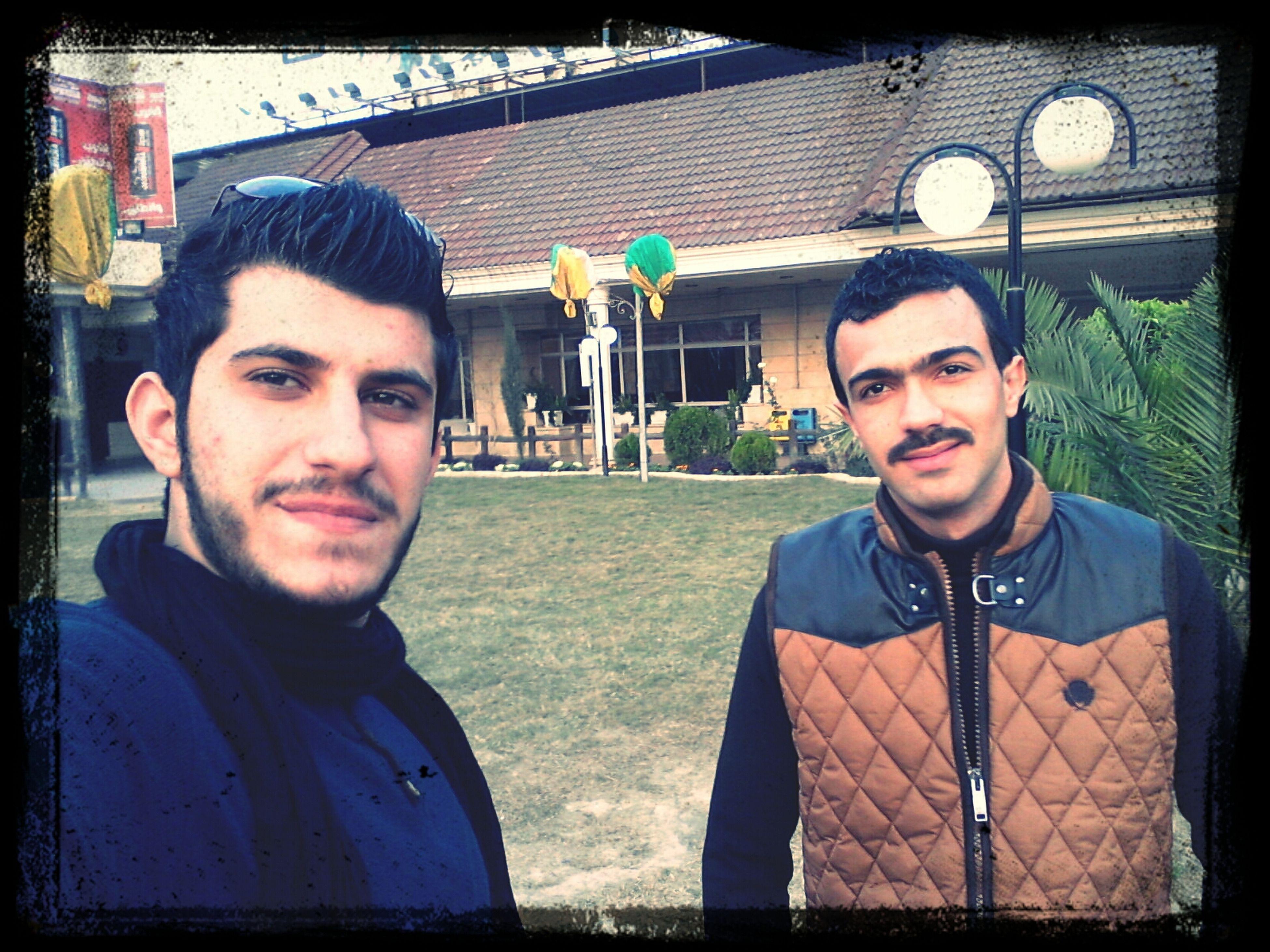 me and protanent mohammad Al_elwia Clib Karadah Hanging Out