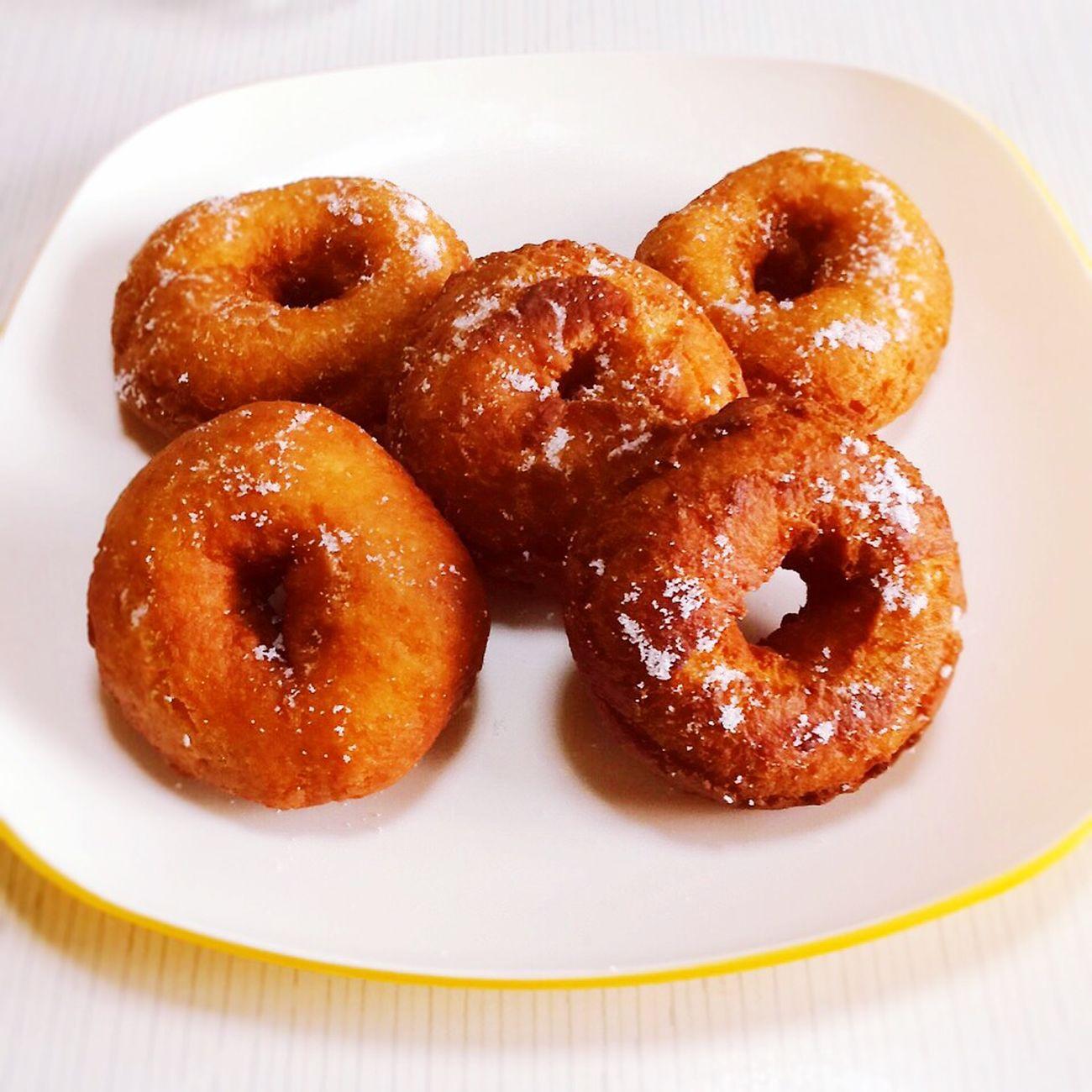 Sweets Dessert Doughnuts Tee Time