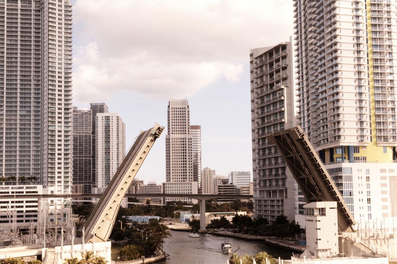 Beautiful stock photos of miami, Architecture, Bridge, Building Exterior, Built Structure