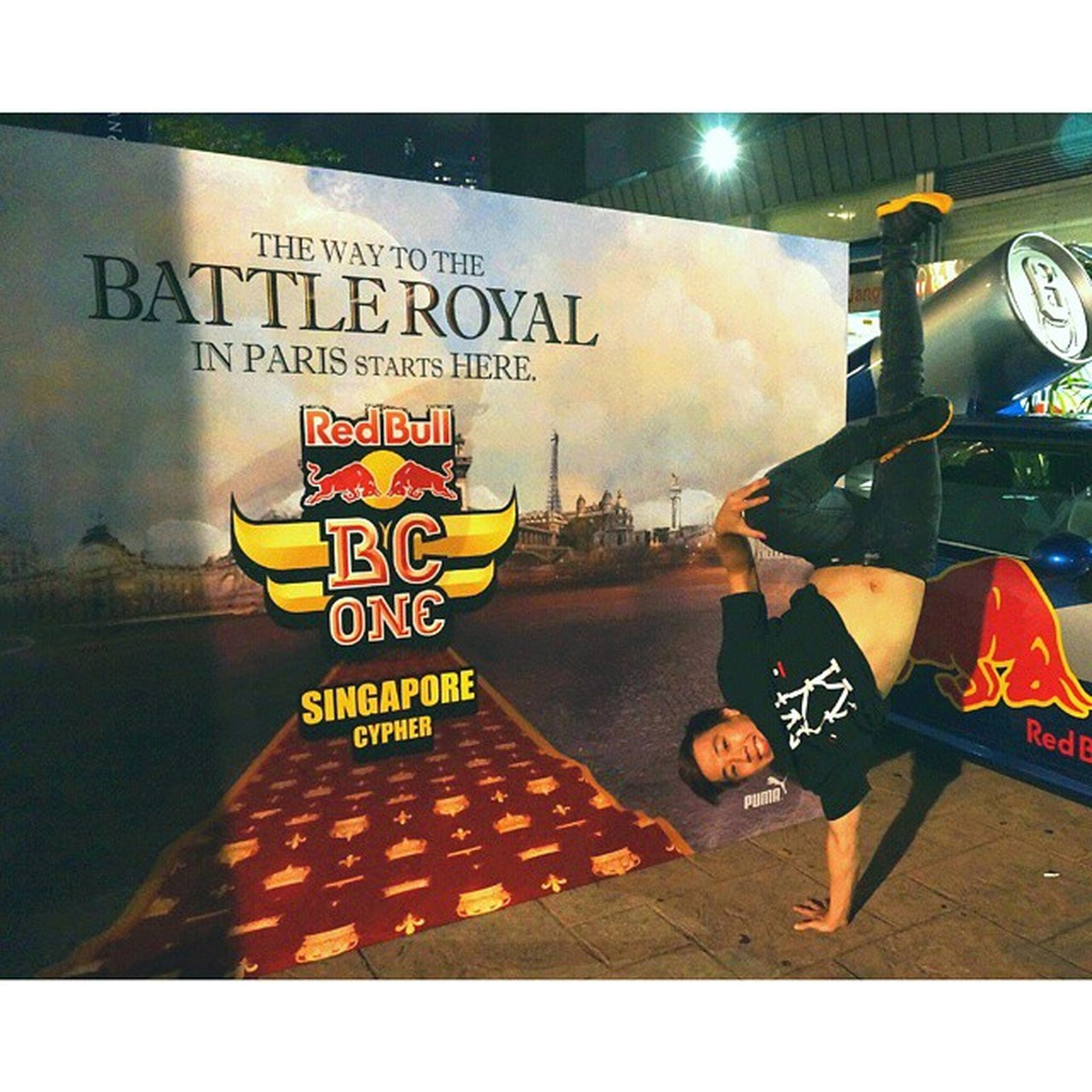 🔙 To the previous Red Bull BC One! I didn't compete that year but I will be competing in this years Battle of the Year SG this Saturday! Nervous but at the same time hyped and anticipating a good time! Throwback BBOY Dance Airfreeze Darylfreezeadventures RedBull Bcone Smilewhenyoufreeze Calisthenics Inversion Handstand  Strength Strengthproject Strengthtraining Igsg Sgig Instadaily IGDaily Squareinstapic 비보이 데일리 맞팔 Mightynomads Breakinus Picoftheday