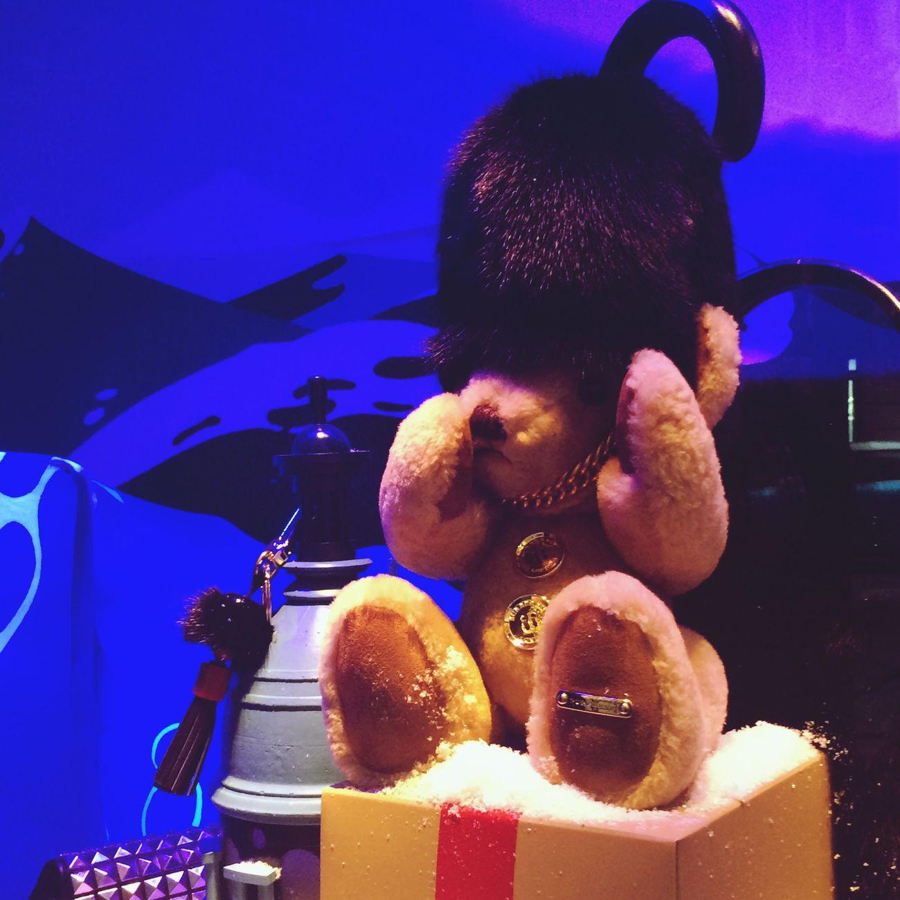 Christmas Lights Christmas Decorations Cute Teddy Bear