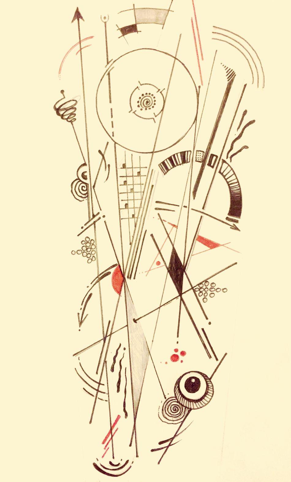 Tieumdekotattoo Tieumdeko Tattooartist  Tattoo ❤ Art, Drawing, Creativity Tattoos Tatto Amazing Design Tattoo Ink Oldschool Classic Drawing Draw Dessin Kandinsky