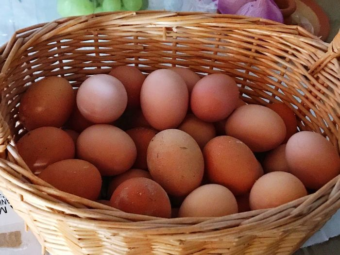 Egg Eggs... Basket Food And Drink Food Picnic Basket Freshness Healthy Eating Organic Organic Food Food And Drink Foodporn Protein Healthy Healthy Food Hen Egg Basket Brown Egg Cooking Abundance Large Group Of Objects Bio Meal Lifestyles Wicker