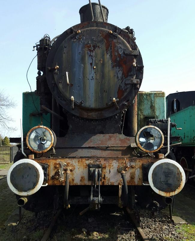 Poland Old Trains Rusted Metal  Old And Rusty A Part Of History Forgotten Showcase April
