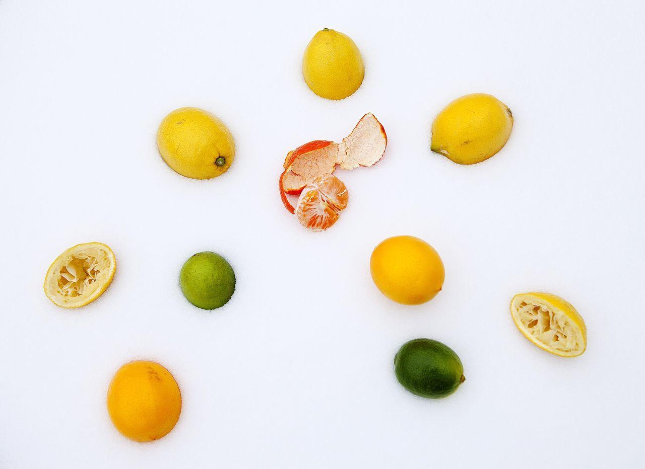 It's Cold Outside Showcase: January Fruits Fruitporn Eat More Fruit Still Life Snow Cold Days Wintertime Lemon Lemons Limette Mandarine Nature's Diversities