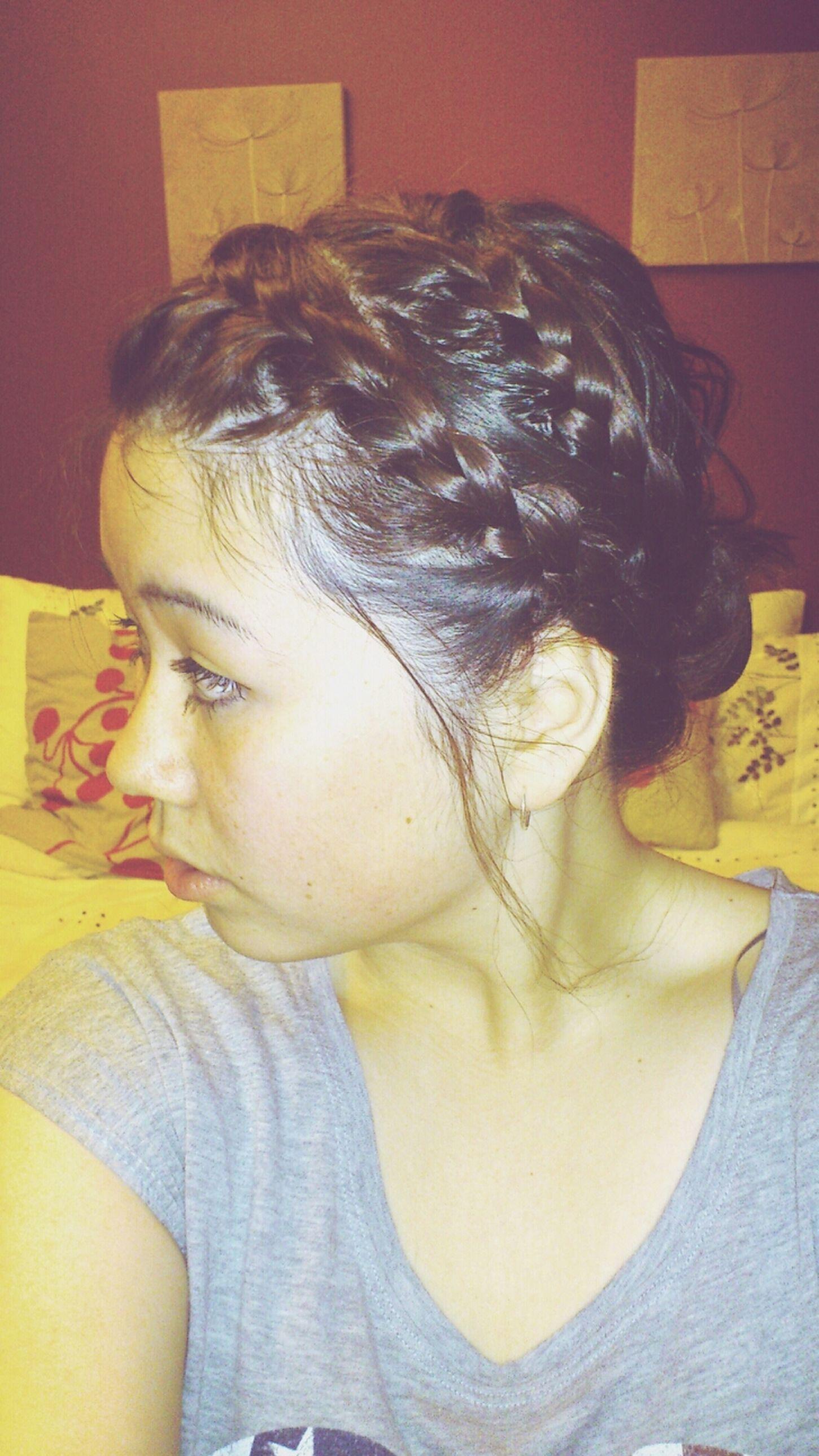 Halfy Hair Hairspiration Enjoying Life
