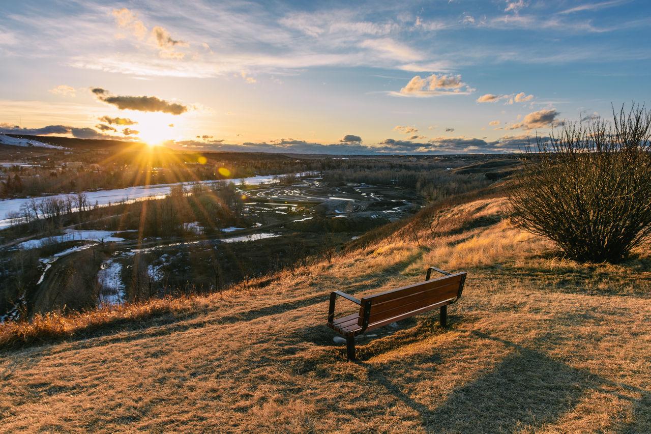 Sunset in Calgary