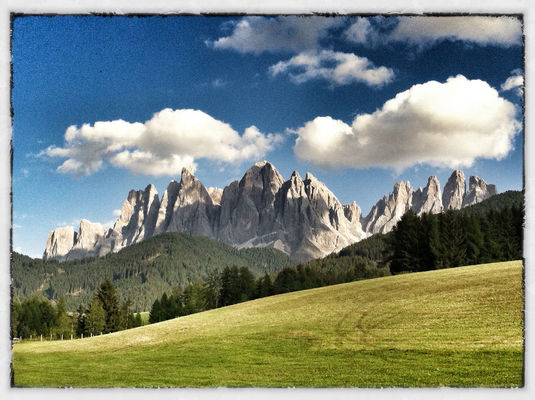 at Val di Funes by Lucia Turra