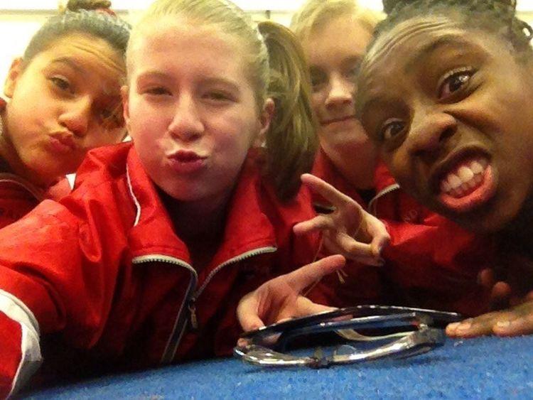 Me And My Gymnastics Girls