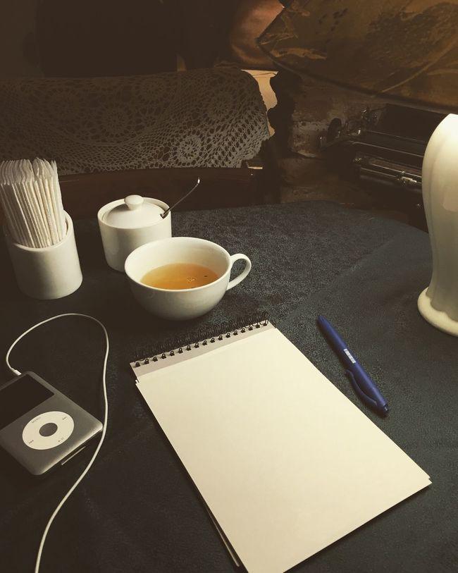 Table Poetessa Me Write Evening No People Alone Inside Things Jasmine Tea Ipodclassic