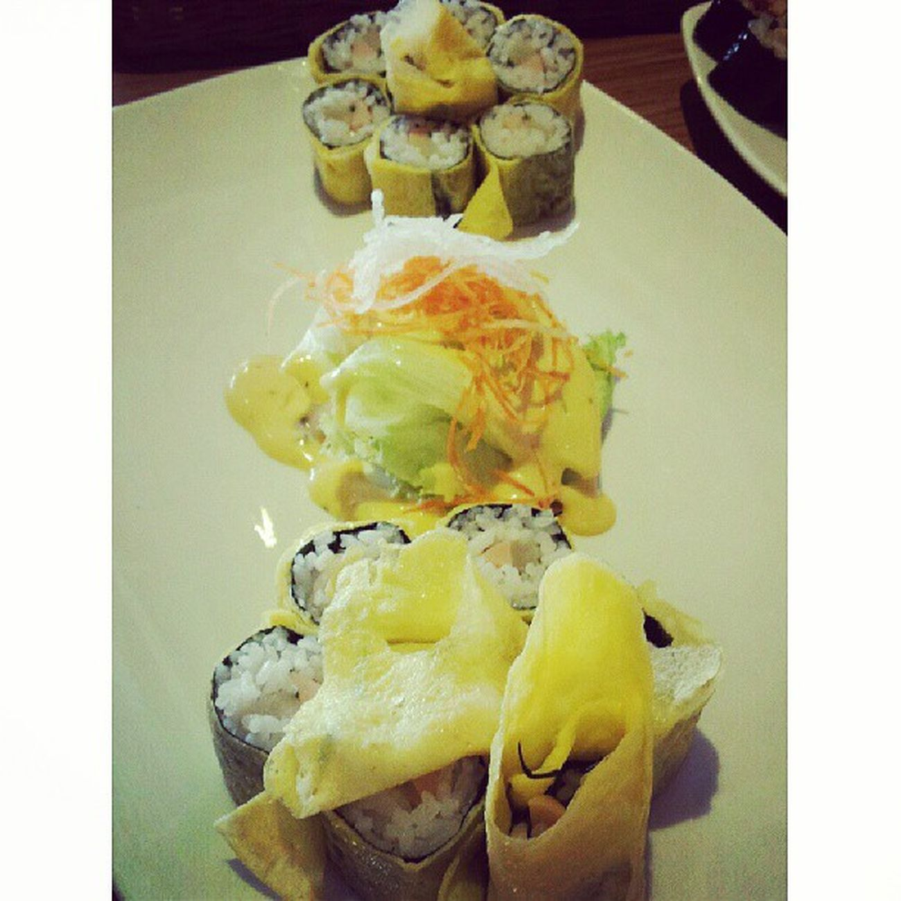 Eeg mari Schoolfood Centralparkmall Lunch Japanfood japan instafood jakarta indonesia egg sushi