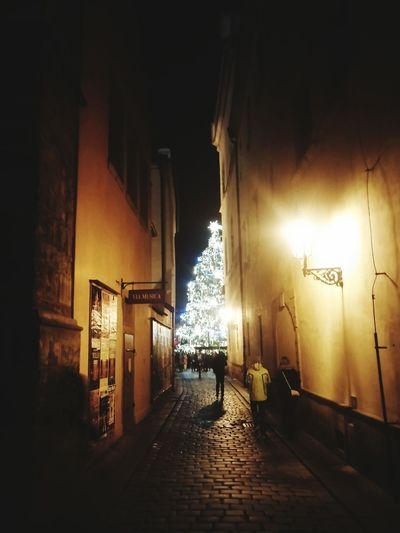 Christmas Lights PragueByNight Prague Christmas
