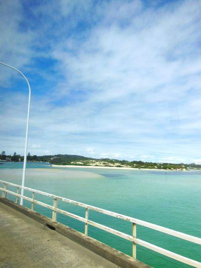 Bridge between Forster and Tuncurry in Australia Bridge View Bridge Ocean❤ Ocean River View River Blue And Green Paradise Beautiful Nature Beautiful Beautiful ♥ Nature