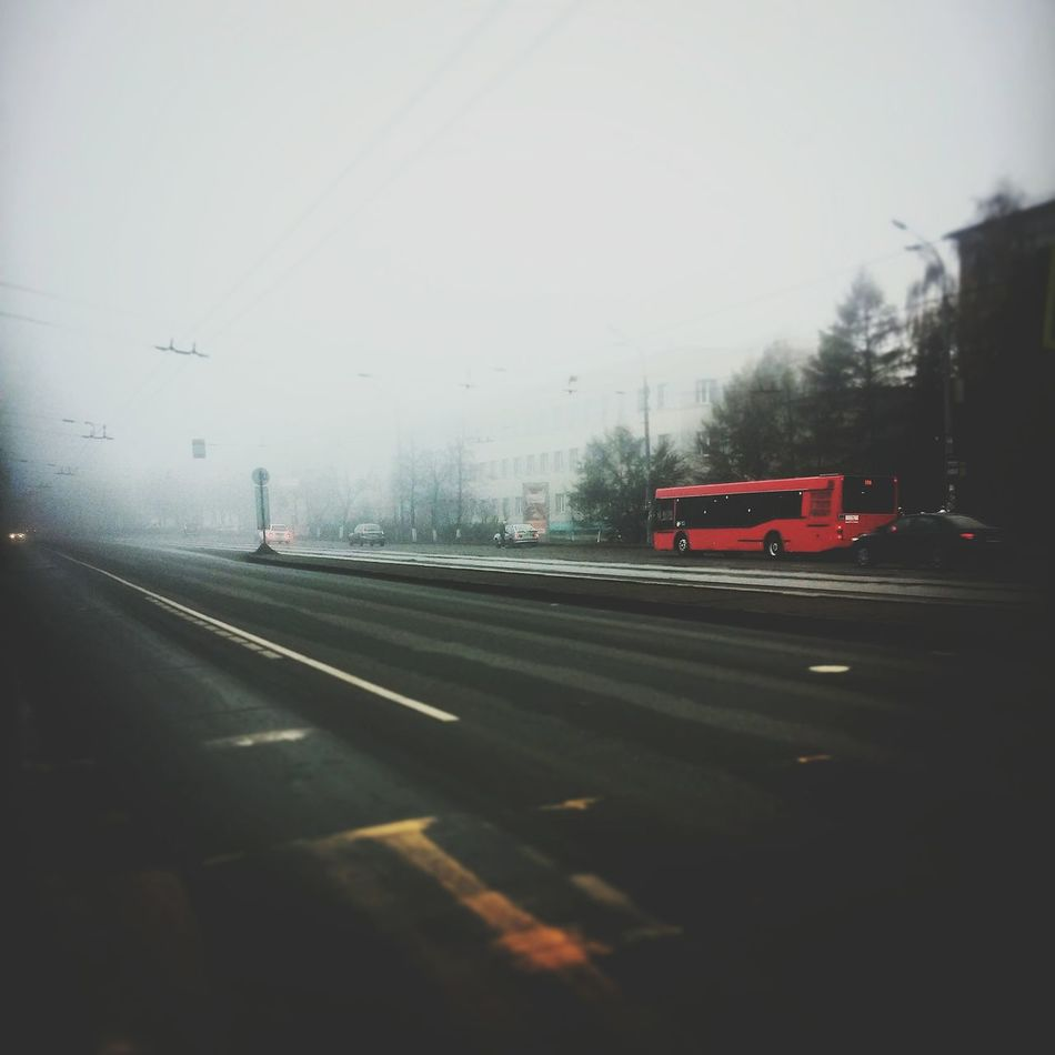 Туманный день в Казани.. First Eyeem Photo