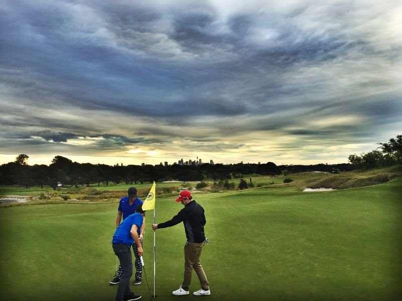 Golfing. Check This Out Clouds And Sky Golfing Nature Landscape That's Me Friends Happy Clouds Sky