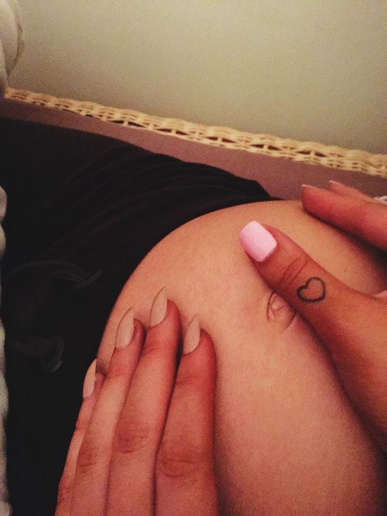 MyBestie Bump 5months  Pregnancy Socute Love Excited Babygirl