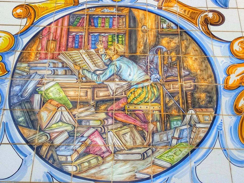 Ceramics Ceramic Art Ceramica Talavera Pottery Art Pottery Talavera Pottery Quixote Talavera De La Reina Talavera ArtWork Art Ceramica Ceramic Tiles Ceramique Ceramic Art Craft España SPAIN