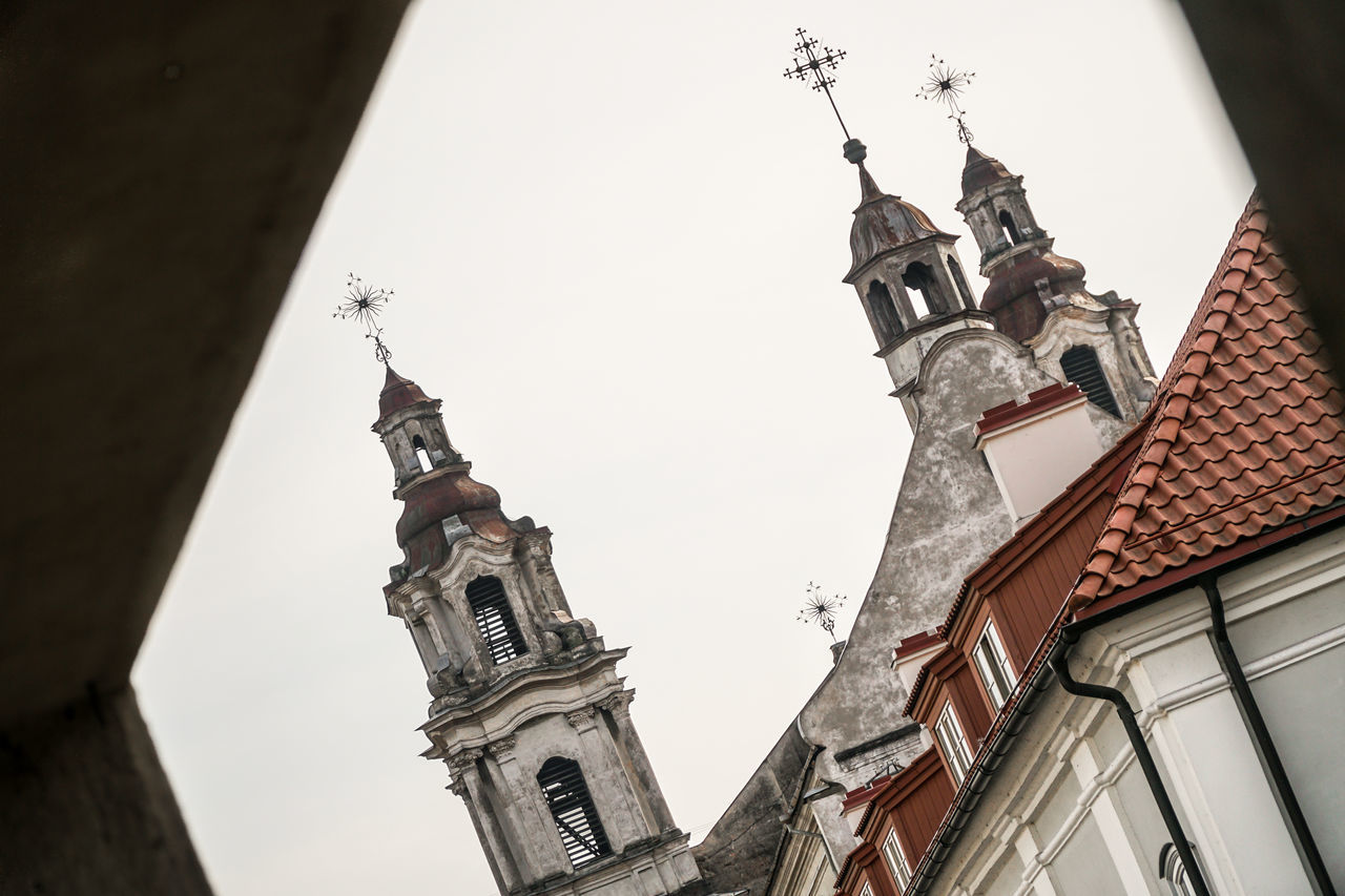 Towers of baroque church - creative architecture shoot in Vilnius Architecture Baroque Baroque Architecture Building Building Exterior Built Structure Cathedral Church Classic Creative Lithuania Medieval Old Old Town Perspective Religion Rococo Roof Sky Streetphotography Tiles Tourism Tower Travel Destinations Vilnius