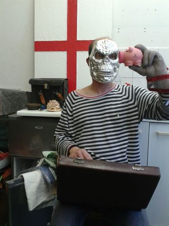 JP's mask (hackney wick, london. may 2013