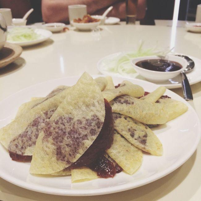 晚餐。 Dinner Singapore Helloworld