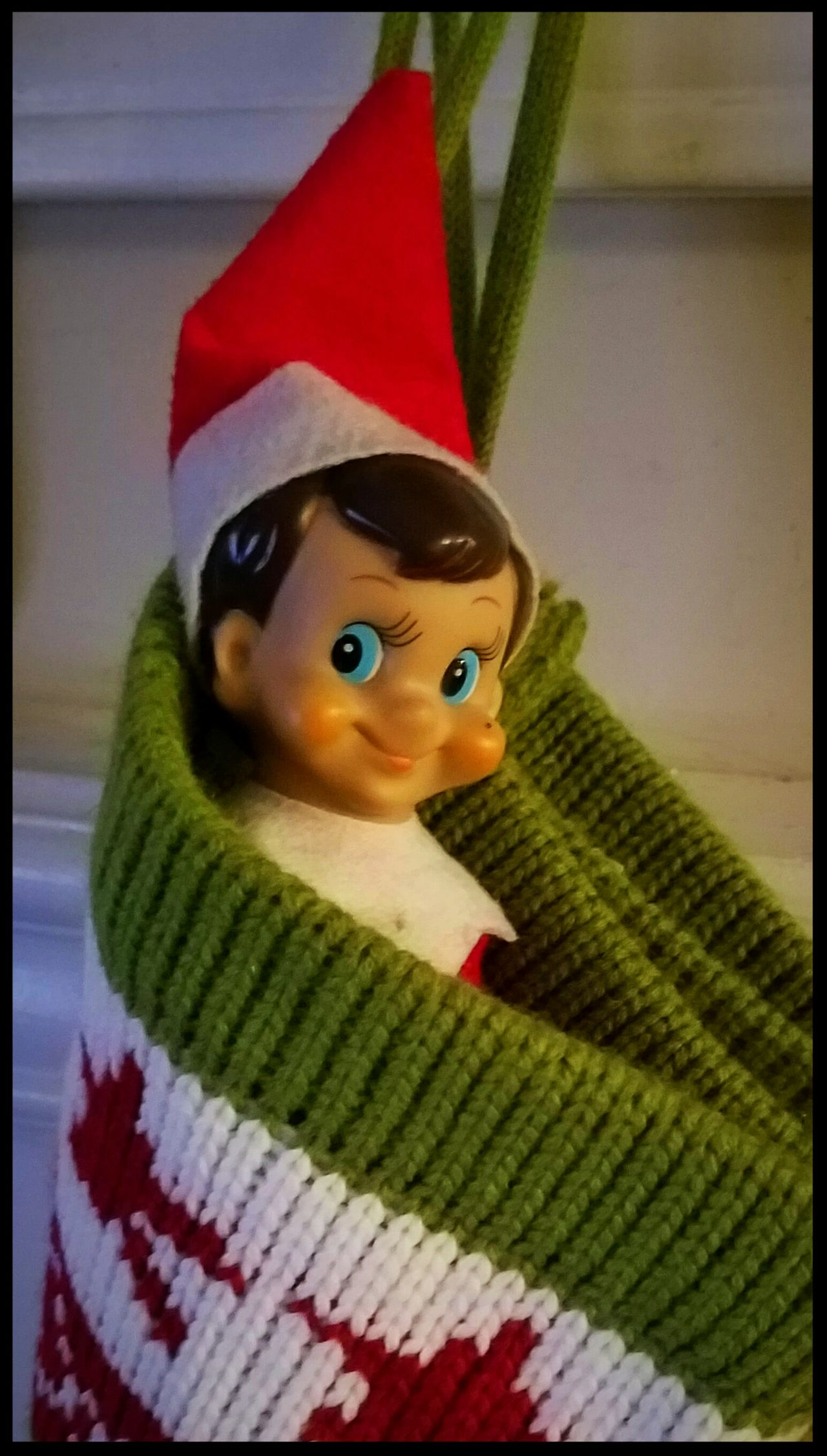 Our Elf, David. Christmas Elfontheshelf Elf Elf On The Shelf David Tradition Holidays Sneaky Christmas Around The World Christmastime Christmas2016 Christmas2016 Red