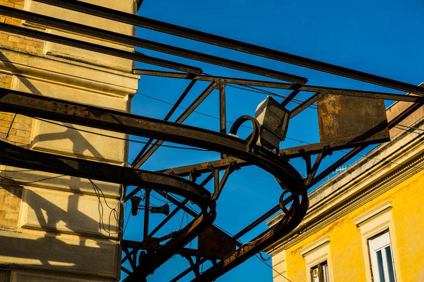 Architecture Architettura Blue Built Structure Day Ferro Low Angle View Sky Struttura Sunlight