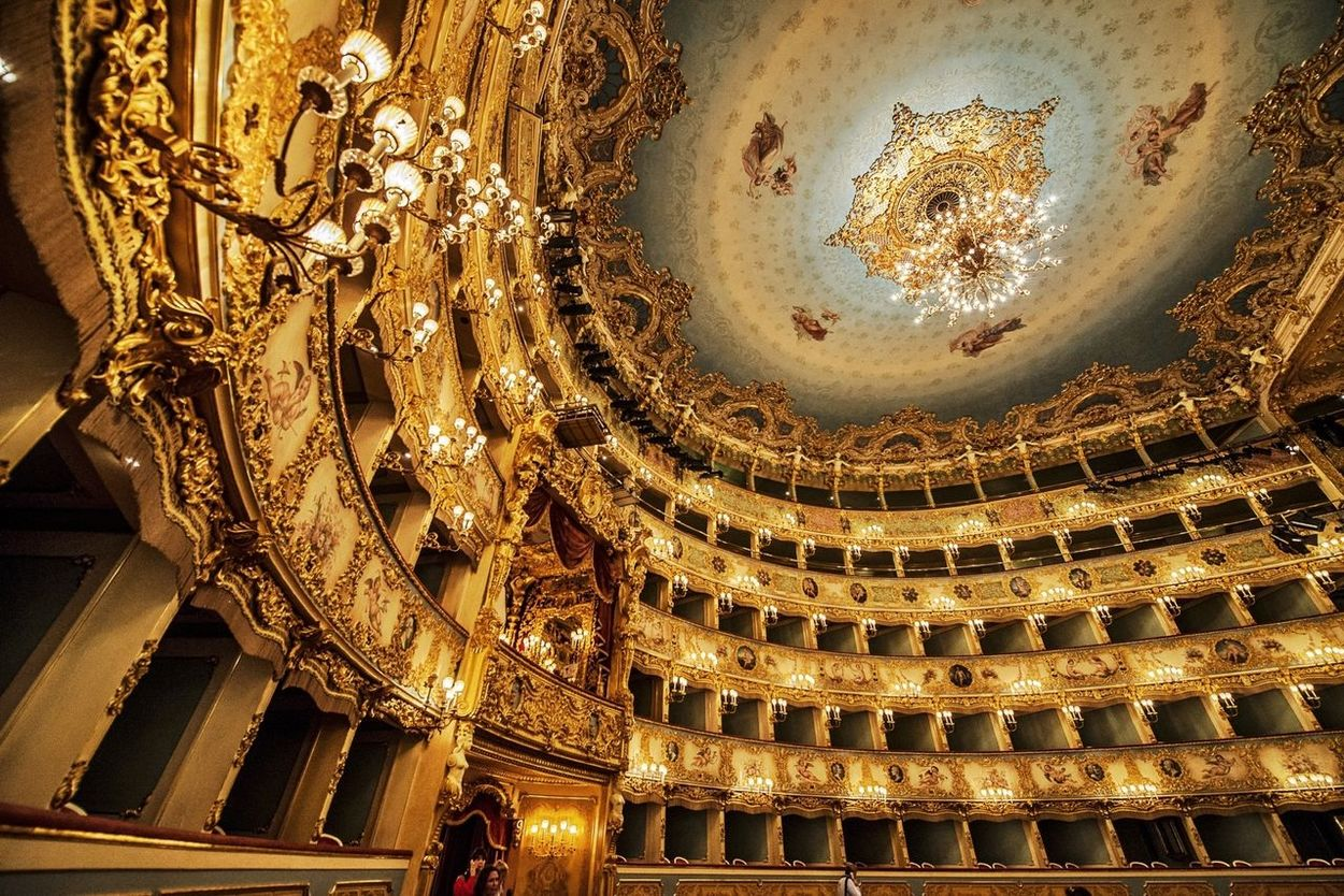 Theater of the Phoenix. Venice / Italy Italy Architecture Building Historical Building
