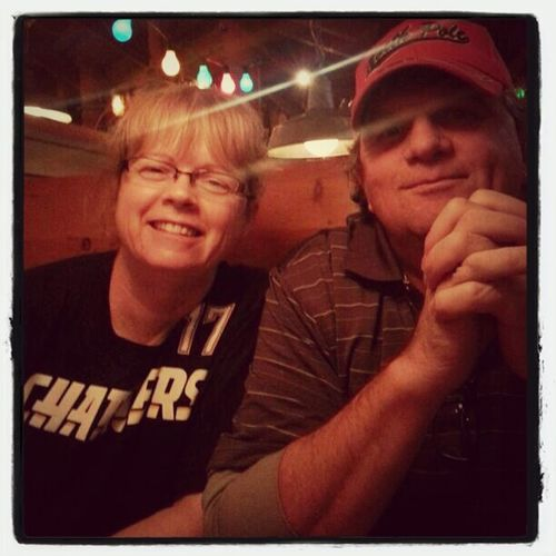 Dinner with the folks.