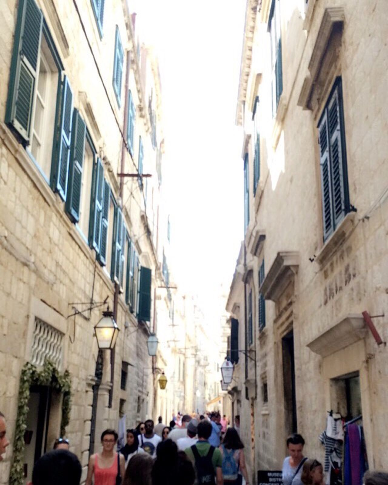 Building Exterior Large Group Of People Architecture People City Walking Travel Destinations City Life Dubrovnik, Croatia Built Structure