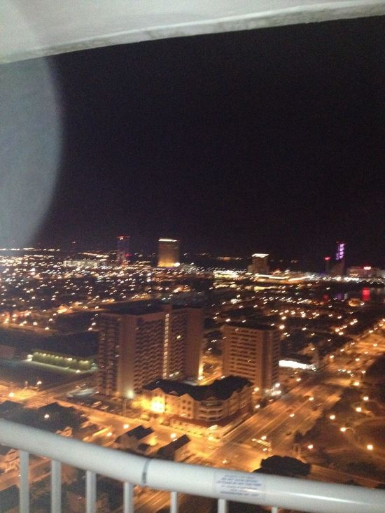My view from the hotel.