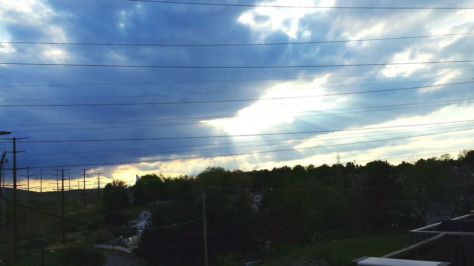 light from the sky Check This Out Sky Light Brake In Clouds Light Light Up Life Happy Living Bold