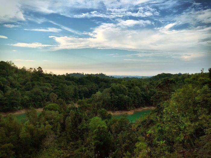 A beautiful scenery 15mins from my house @ Tasek Lama Bandar Seri Begawan Brunei Darussalam Brunei . Here Belongs To Me and My Favorite Place