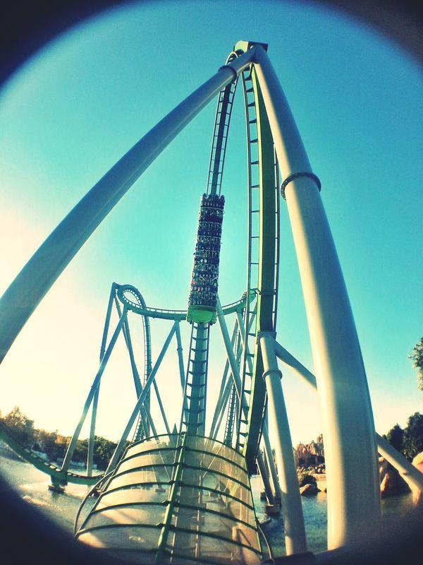 Hulk The Avengers Rollercoaster Fun
