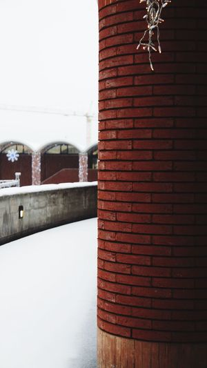Snow Built Structure Architecture Building Exterior Day No People Outdoors Roof