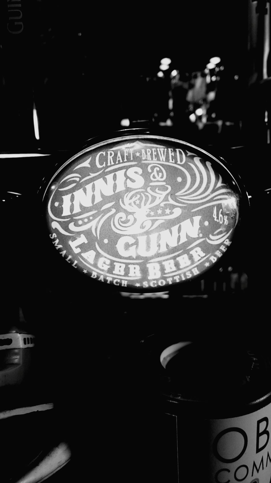 Favourite beer on tap. I could be here a few times this week. Beer Drinking Relaxing Quality Time Markiedans Scotland Oban Innis&gunn Innisandgunn