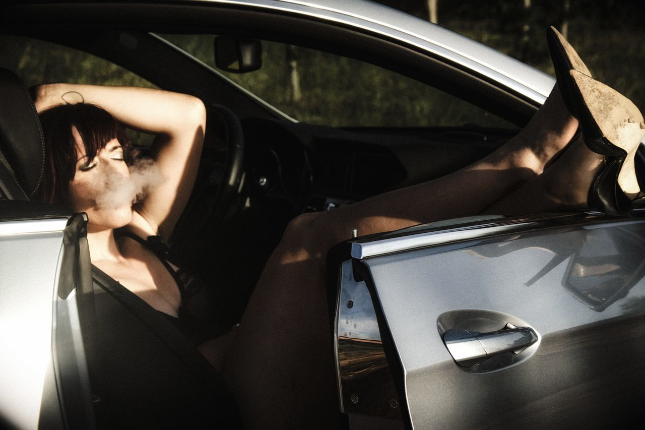 Car Car Interior Only Women People Photography The Portraitist - 2017 EyeEm Awards Female Community Sensual_woman