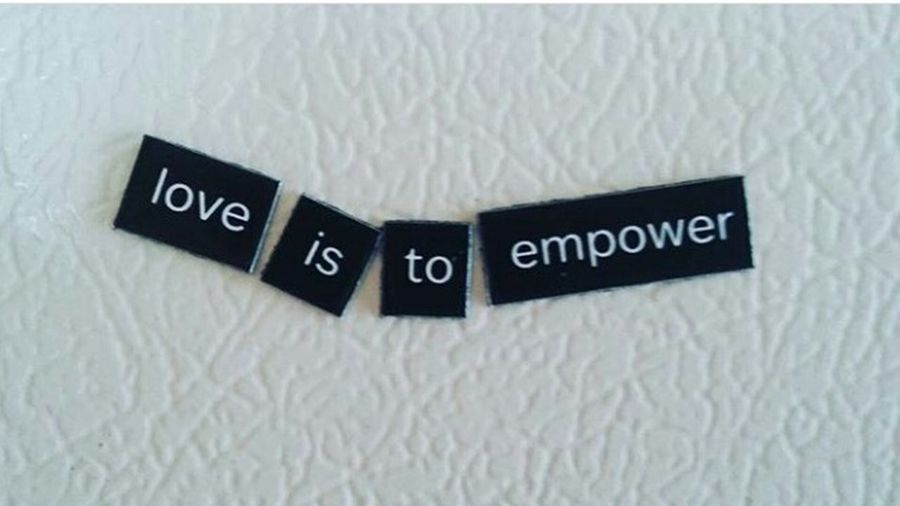 Words Of Wisdom... Words Of Encouragement Lovely Place Love Is Everywhere Magnets