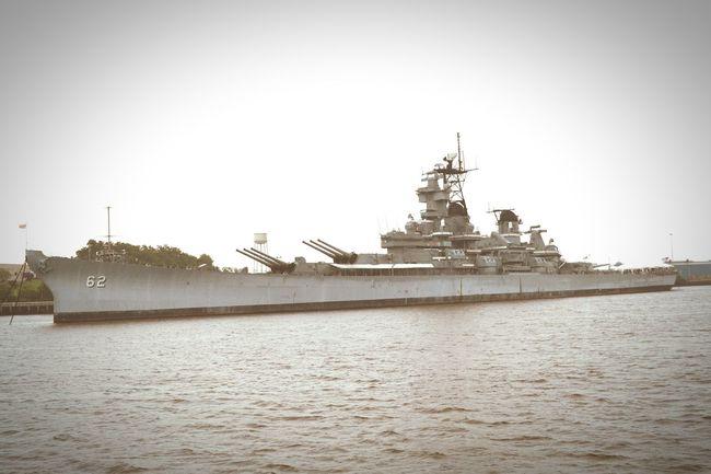 Uss New Jersey Battleship Delawareriver