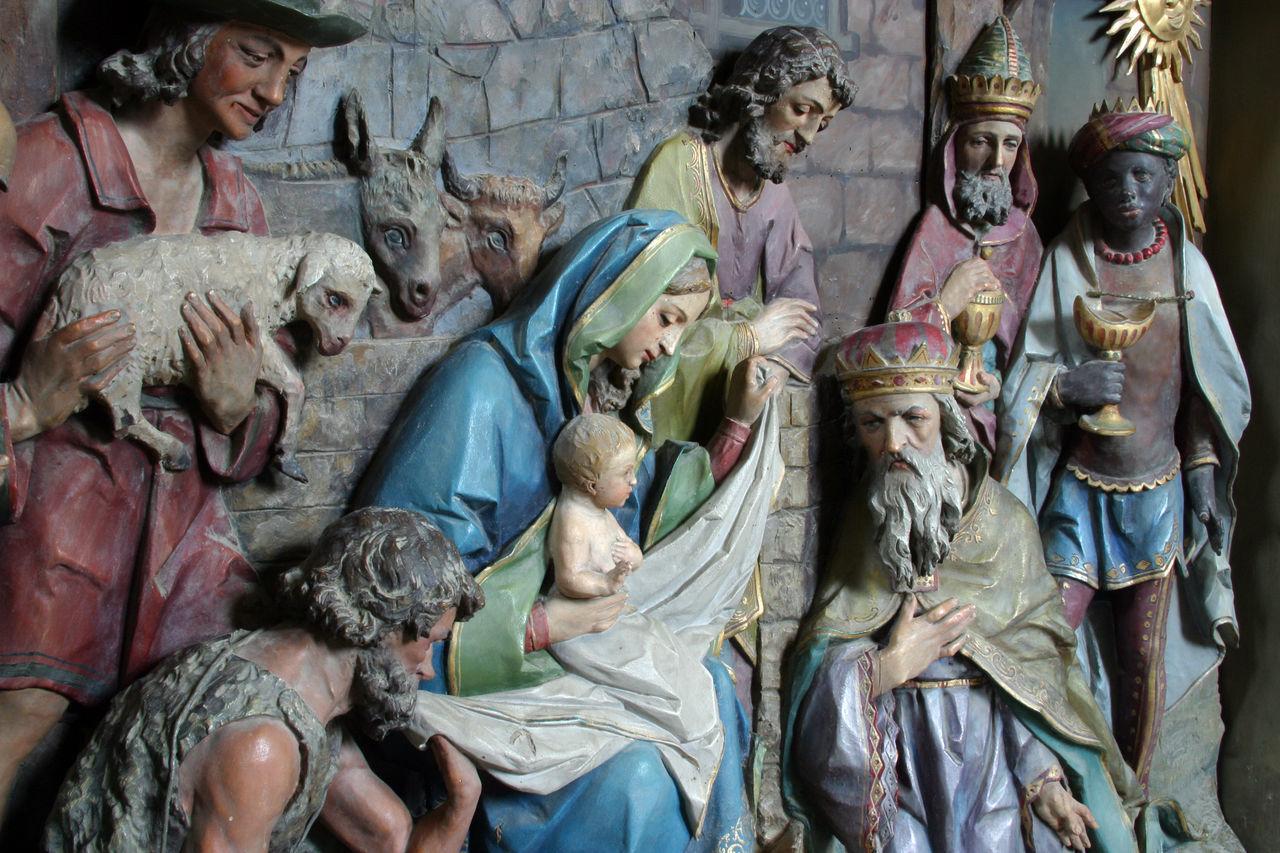 Nativity Scene, Adoration of the Magi Adoration Art Baby Bethlehem Birth Christmas Church Creche Croatia Faith Holy Jesus Joseph Kings Magi Nativity Scene Peace Religion Saint Shepherds Spiritual Spirituality Virgin Mary Wise Man