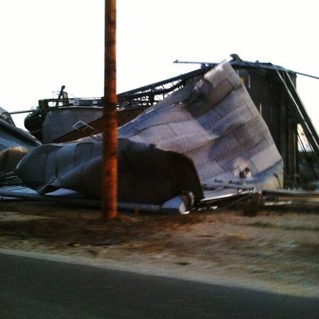 Grain Bins Tornadoaftermath TheWeekOnEyeEM Tornado Damage Sad Day My Home Town Fairfax Missouri Uprooted The World As I See It EyeEm Gallery
